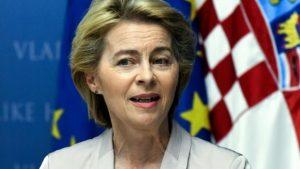 اورسولا فون در لايين ترغب في اعادة التوازن الى الاتحاد الاوروبي