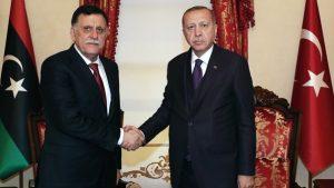 تركيا ليبيا